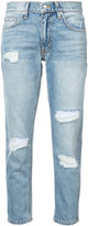 Derek Lam 10 Crosby Mila distressed slim-fit jeans