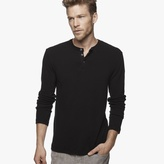 James Perse Brushed Jersey Henley