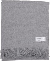 The Inoue Brothers Grey Large Brushed Stole