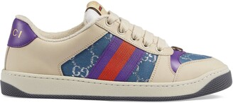 Gucci Women's Screener sneaker with Web