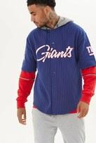 Forever 21 FOREVER 21+ NFL Giants Hooded Fleece Shirt