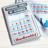 Sukie Periodic Table Of Elements Handkerchief