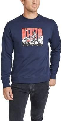 Kenzo Tiger Mountain Crew Neck Sweater