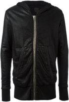 RtA metallic zipped hoodie - men - Cotton - S