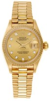 Rolex Datejust President 18K Yellow Gold and Diamond Womens Watch