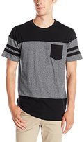 Southpole Men's Short-Sleeve Marled Cut-and-Sewn T-Shirt with Pocket