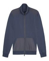 Cotton Zip-through Sweater