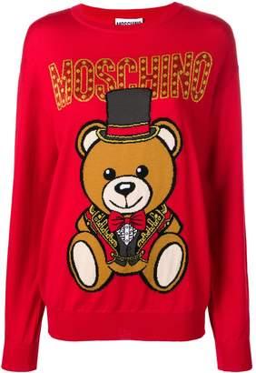 Moschino circus bear jumper
