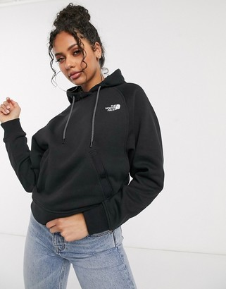 The North Face Nse graphic hoodie in black