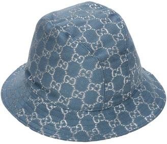 Gucci Gg Wool Blend Lame Bucket Hat