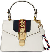 Gucci Sylvie shoulder bag - women - Leather/Suede/Nylon/metal - One Size