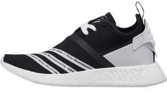 adidas x White Mountaineering NMD_R2 Primeknit Trainers Core Black/Footwear White/Footwear White