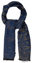 Etro Paisley Patterned Scarf