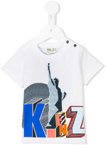 Kenzo logo print T-shirt - kids - Cotton - 6 mth
