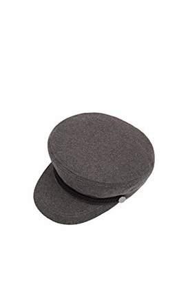 Esprit Accessoires Women's 089ea1p002 Flat Cap, (Medium Grey 035), Small