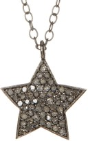 ADORNIA Shira Champagne Diamond Necklace - 0.40 ctw