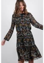 Molly Bracken Printed Midi Skater Dress