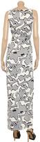 Diane von Furstenberg Yazhi printed silk-jersey wrap maxi dress