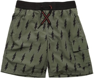 Zadig & Voltaire All Over Arrow Print Swim Shorts