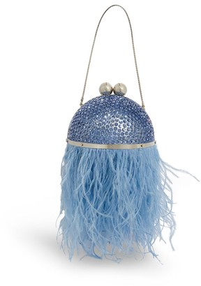 Marzook Mini Crystal And Feather Orb Bag