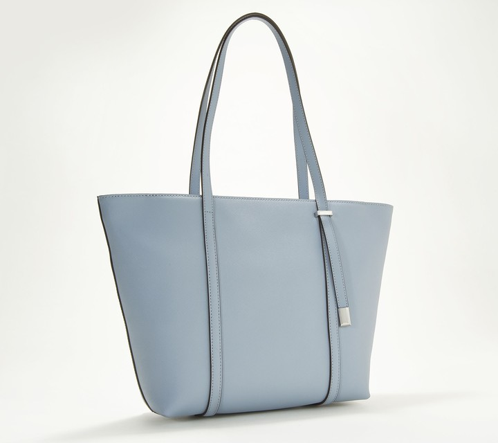 0bd0c6ddbc Top-Zip Saffiano Leather Tote Bag - Didi