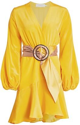 Silvia Tcherassi Filis Belted Flutter Dress