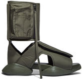 Rick Owens X Adidas Men's Velcro Strap Ro Cargo Sandals In Khaki