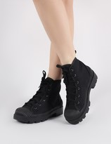Public Desire Greenland Ankle Boots Canvas