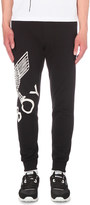 Boy London Eagle print cotton-jersey jogging bottoms