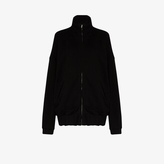 LES TIEN Zip-Up Cotton Jacket