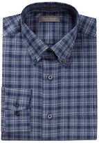 Daniel Cremieux Signature Long-Sleeve Heather Windowpane Shirt