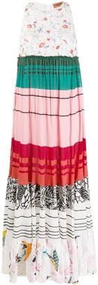 Missoni Empire-Line Panelled Maxi-Dress