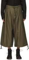 Yohji Yamamoto Green Balloon Trousers