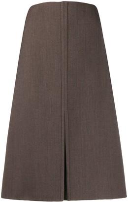 Jil Sander Front Slit Skirt