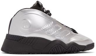 Adidas Originals By Alexander Wang Silver Futureshell Sneakers