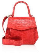 Nancy Gonzalez Small Crocodile Top-Handle Satchel