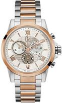 Very Gc Esquire - Swiss Movement, Silver & Rose Gold case & bracelet with Silver dial