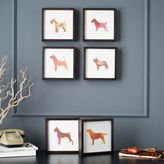 west elm Dog Print Wall Art - Fox Terrier