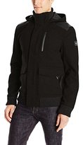 Buffalo David Bitton Men's Jutania Light Wool Hooded Jacket