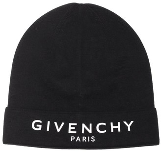 Givenchy Logo Embroidered Beanie