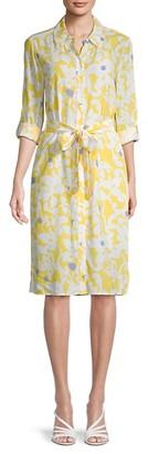 Diane von Furstenberg Floral-Print Shirtdress