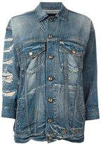 R 13 'Oversized Trucker' jacket