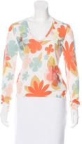 Moschino Floral Knit Top