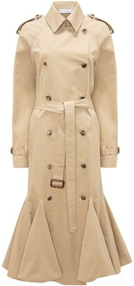 J.W.Anderson Cape Detail Trench Coat