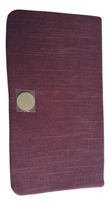 Stella McCartney Burgundy Cotton Clutch bags