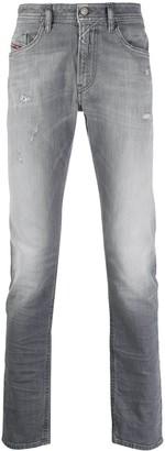 Diesel Mid-Rise Slim Fit Jeans