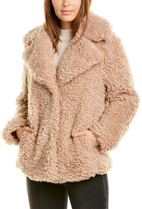 Kensie Reversible Sherpa Coat