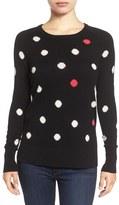 Halogen Patterned Cashmere Sweater (Regular & Petite)