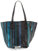 Marc Jacobs Wingman Striped Tote Bag