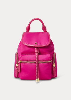 Ralph Lauren Nylon Keely Small Backpack